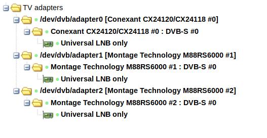 Reset TV adapter settings in Tvheadend – Julius' Blog